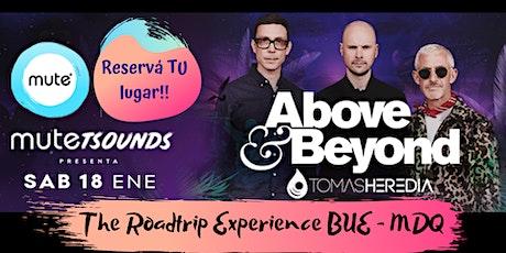 "18.ene.2020 - ""The roadtrip experience"" Above & Beyond @ MUTE, MDQ. ARG entradas"