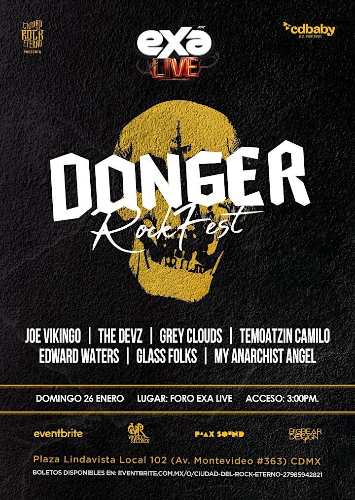 Imagen de Joe Vikingo en CDMX - Danger Rock-Fest 2020