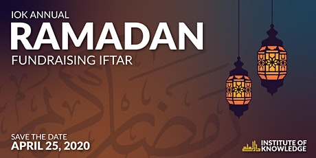 IOK Annual Fundraising Iftar tickets