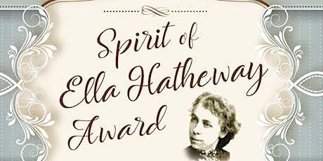 Spirit  of Ella Hatheway Award Presented to Elizabeth Weir tickets