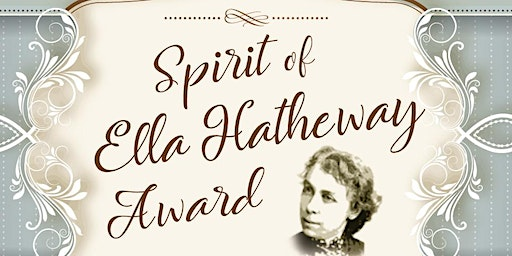 Spirit  of Ella Hatheway Award Presented to Elizabeth Weir