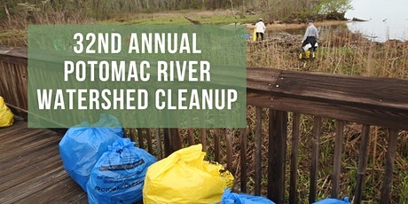 32nd Annual Potomac River Watershed Cleanup tickets