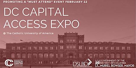 Capital Access Expo   Winter 2020 tickets