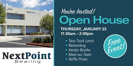 Next Point Bearing Group Open House tickets