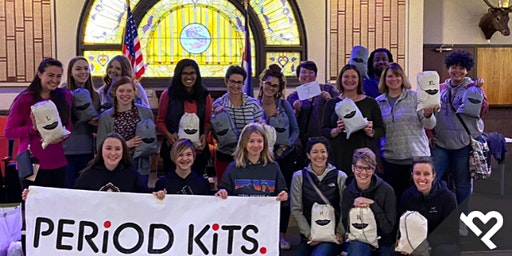 Volunteer with Project Helping for a Period Kit Party!