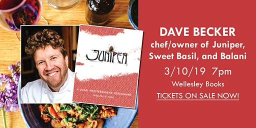 Dave Becker, chef/author of Juniper
