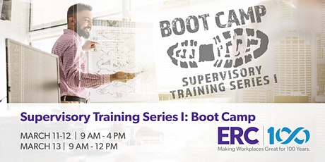 Supervisory Training Series I Boot Camp tickets