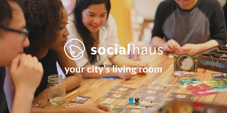 Socialhaus: Board game night with strangers tickets