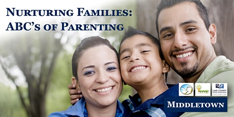 Nurturing Families: ABC's of Parenting tickets
