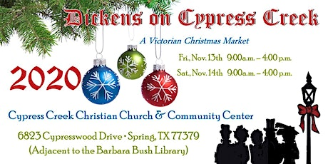 Dickens on Cypress Creek 2020 - Free Admission tickets