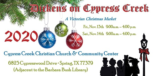 Dickens on Cypress Creek 2020 - Free Admission