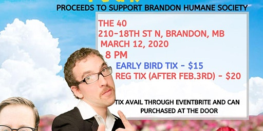The Human Condition Spring Comedy Tour - Brandon, MB