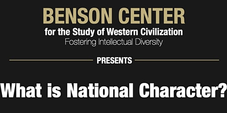 Yuval Levin: What is National Character? tickets