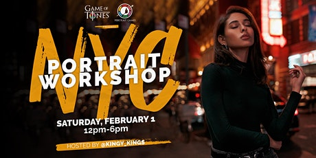 NYC Portrait Workshop by @Kingy_Kings tickets