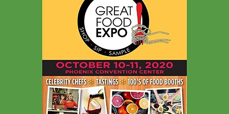 Great Food Expo, October 10-11, 2020 tickets