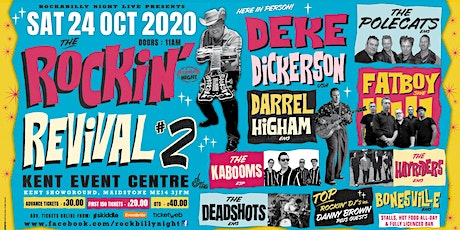 The Rockin' Revival #2 - Rockabilly All-Dayer tickets