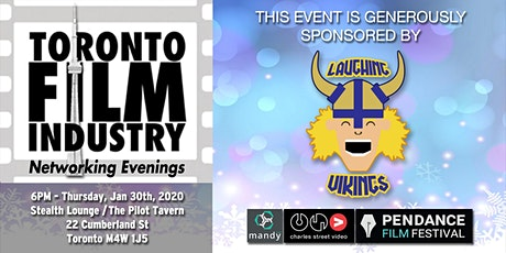 NEW YEARS Toronto Film and TV  Networking Evening tickets