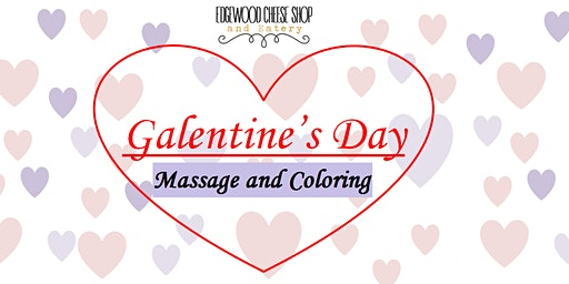 Galentine's Day Massage and Coloring