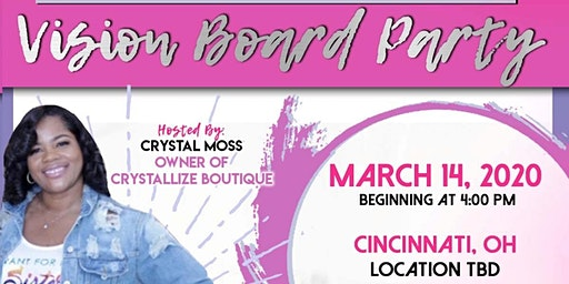 Crystallize Boutique Vision Board Party