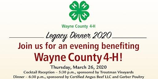 2020 Wayne County 4-H Legacy Dinner