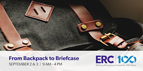From Backpack to Briefcase tickets