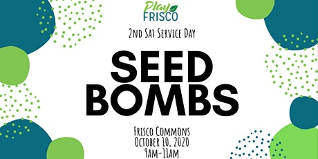 2nd Sat Service Day: Seed Bombs tickets