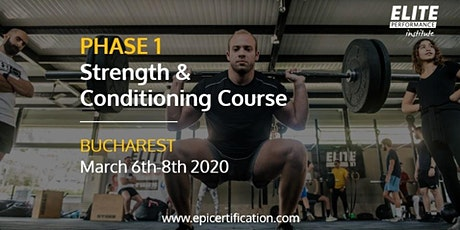 EPI Phase 1 Strength & Conditioning Course | Bucharest tickets