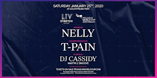 Pegasus LIV Stretch Village ft. Nelly | T-Pain