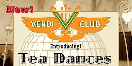 Sunday Social Tea Dance tickets