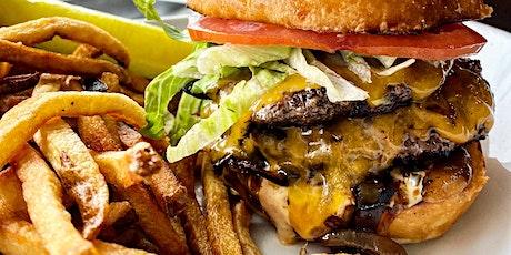 $6.95 DBL CF Burgers w/ Secret Sauce! tickets