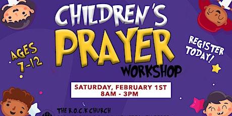 Children's Prayer Workshop tickets