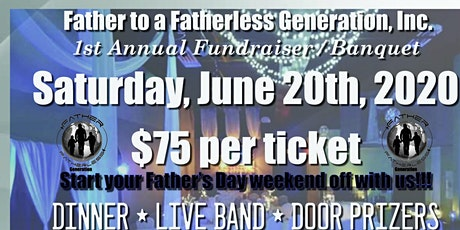 Father to a Fatherless Fundraiser Banquet tickets