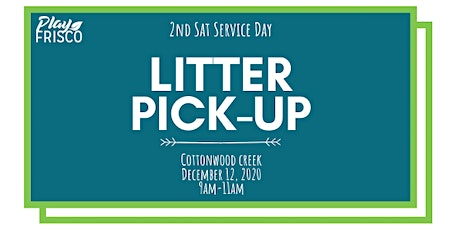 2nd Sat Service Day: Litter Pick-Up tickets