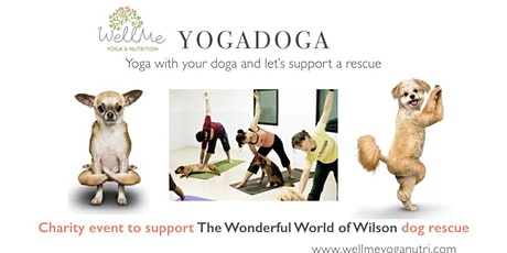 YogaDoga - yoga with your dog in support of a dog rescue tickets