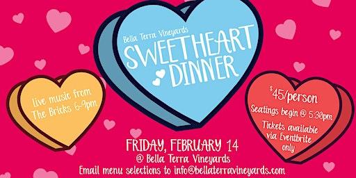 Sweetheart Dinner at BTV!