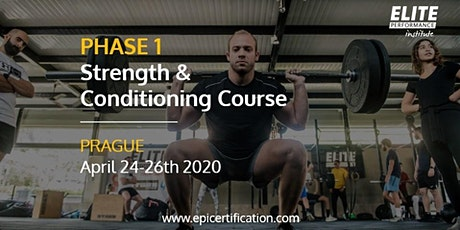 EPI Phase 1 Strength & Conditioning Course | Prague tickets