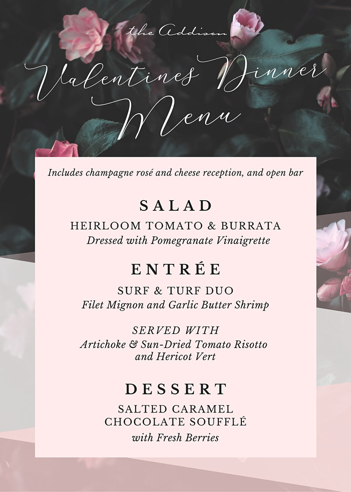 Valentine's Dinner at the Addison image