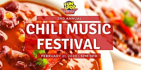Fun Spot America's 2nd Annual Chili Music Festival tickets