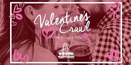 Valentine's Crawl : Wine + Light Bites tickets