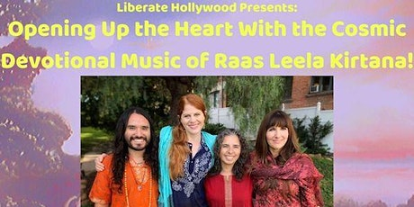 Opening Up the Heart With the Cosmic Devotional Music of Raas Leela Kirtana! tickets