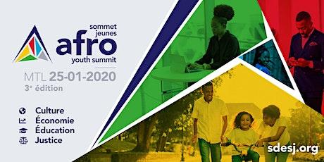 3e Sommet Jeunes Afro billets