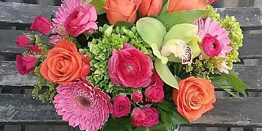DIY Flower Design Workshop- Valentine's Day arrangements!