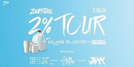 Zoobstool 2% Tour tickets