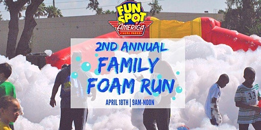 Fun Spot America's 2nd Annual Family Foam Run