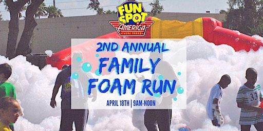 Fun Spot America's 2nd Annual Family Foam Run