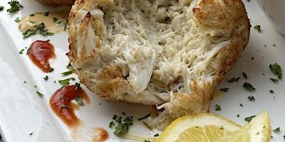 $9.95 Single Crab Cake Platter