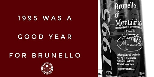 1995 was a good year for Brunello