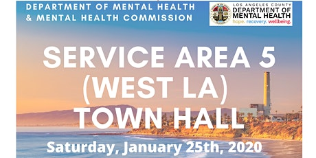 Service Area (West LA) Town Hall tickets