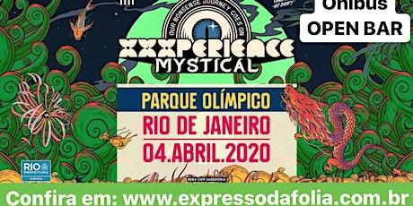 ONIBUS OFICIAL para XXXPERIENCE Rio 2020 ingressos