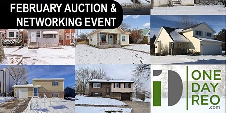 February Central & Northern NJ Real Estate Auction tickets